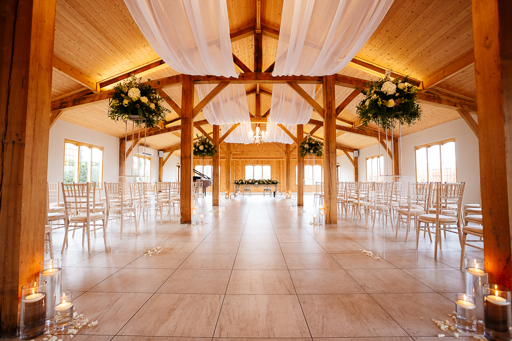 Ceremony room at Merrydale Manor