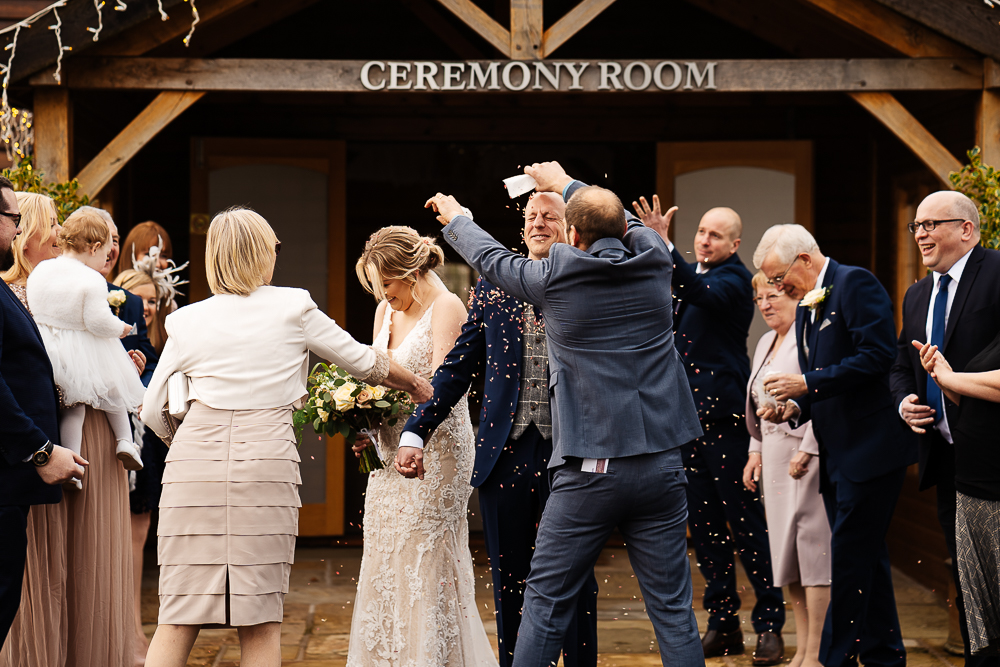 Confetti at Merrydale Manor