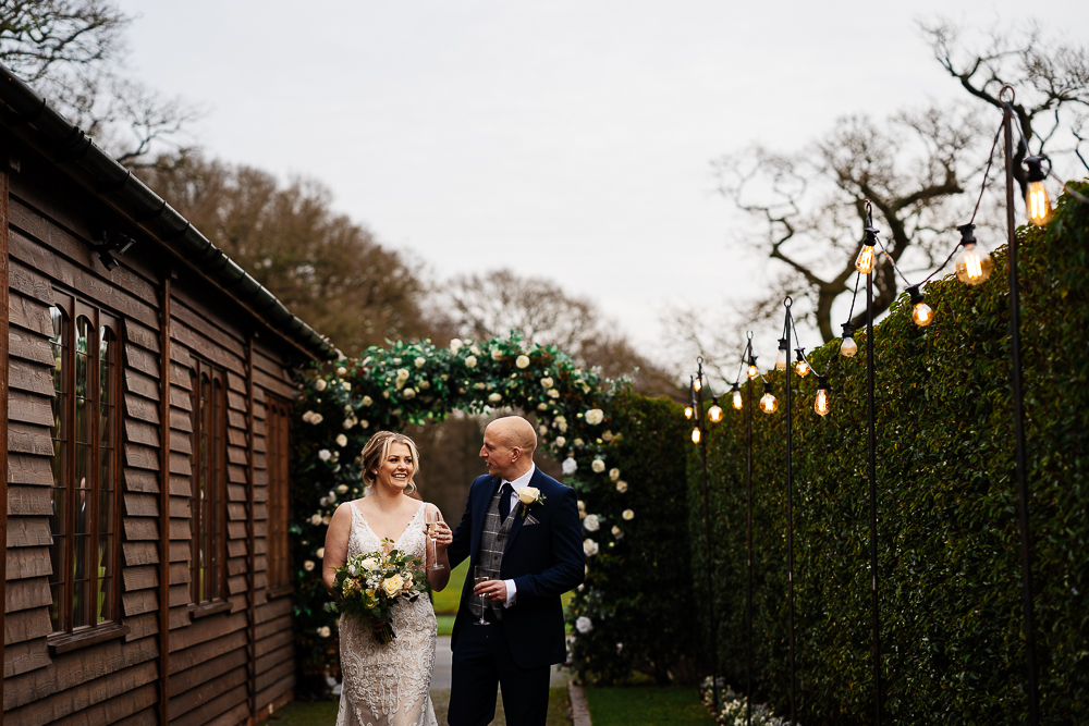 Bex & Andy's Christmas wedding at Merrydale Manor