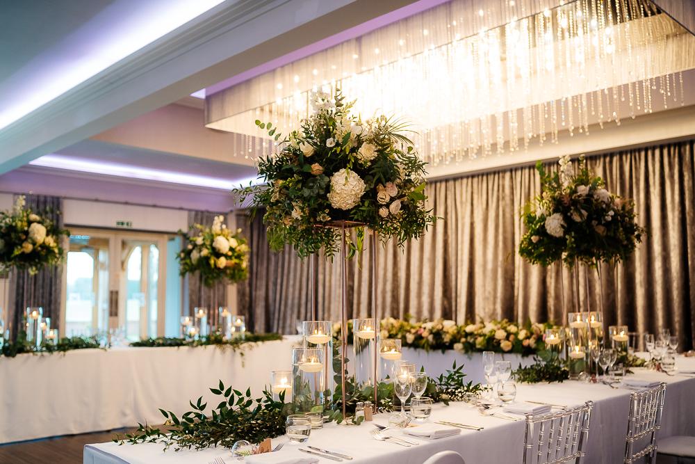 Flowers in the Merrydale suite
