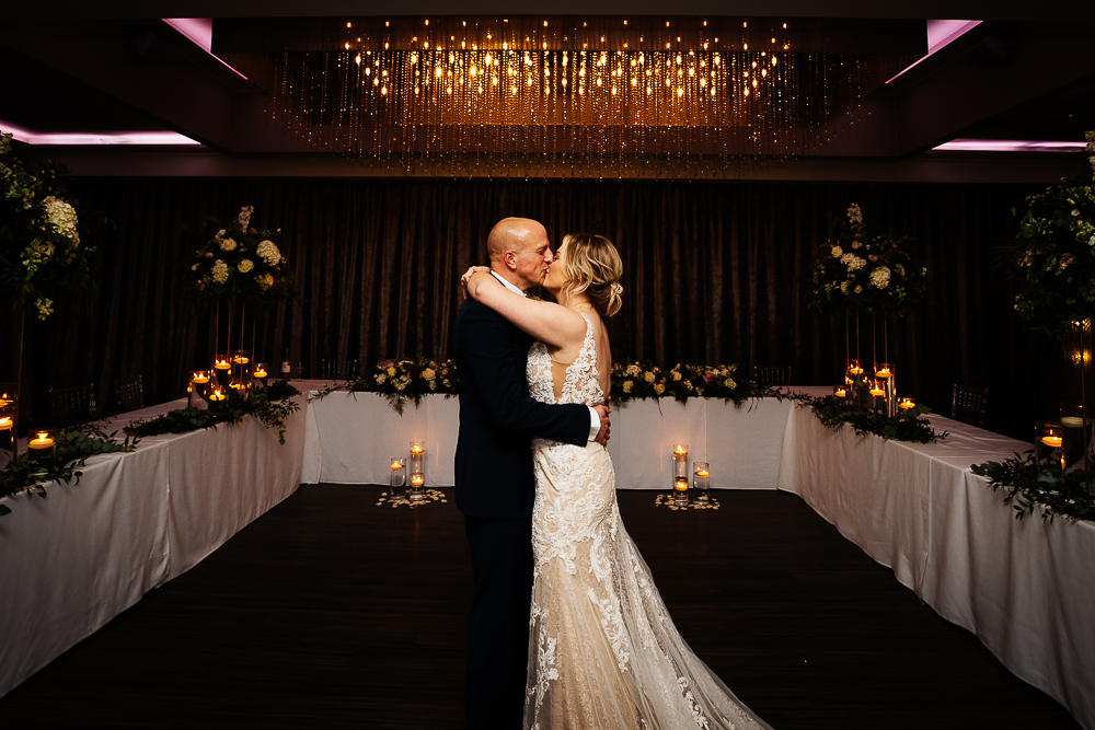 Bride and groom first dance at Merrydale Manor